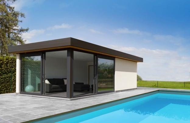duurzame poolhouse